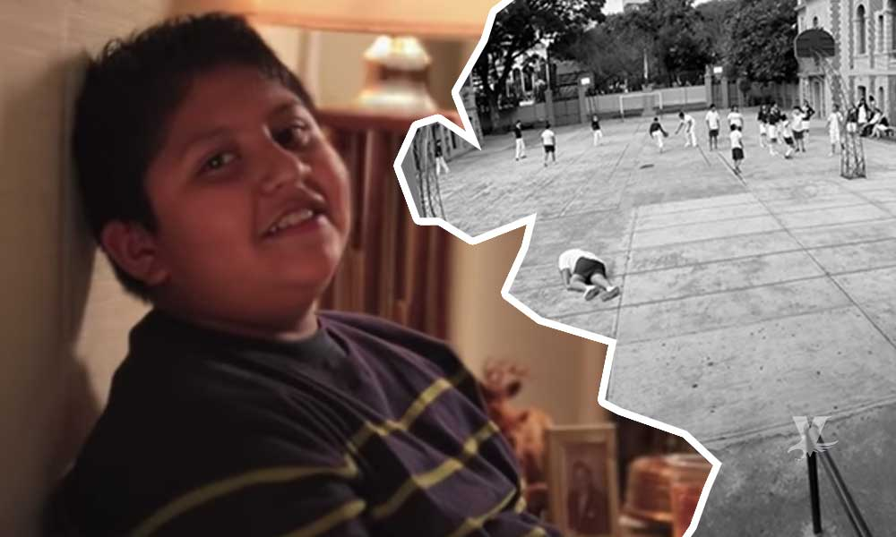 (VIDEO) Niño con obesidad muere de un infarto fulminante en clase de educación física