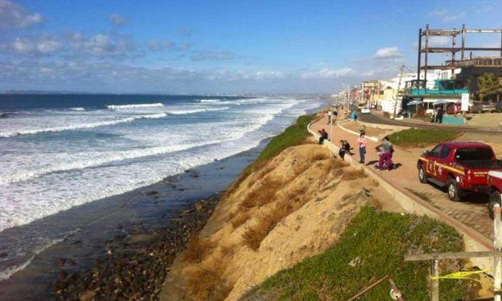 Se esperan olas de hasta 2 metros en playas de Tijuana y Rosarito