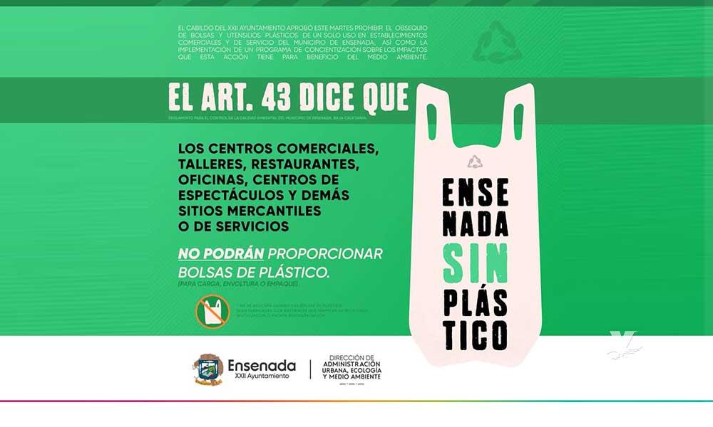 A partir de ahora, San Quintín sin bolsas de plástico