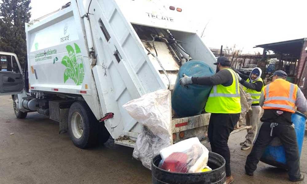 Se normalizan los trabajos de Obras Públicas del Ayuntamiento en Tecate