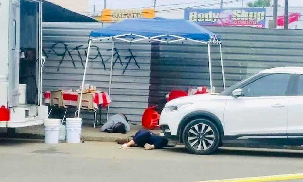 Pareja es acribillada mientras desayunaban en Playas de Tijuana