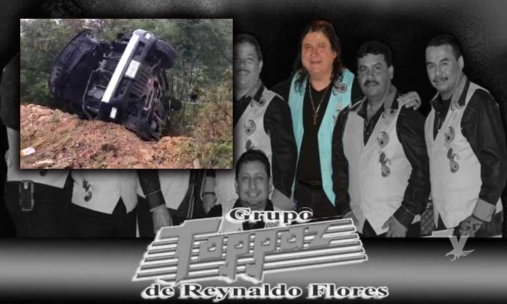 """Líder del """"Grupo Topaz"""" pierde la vida al volcar el vehículo que manejaba"""