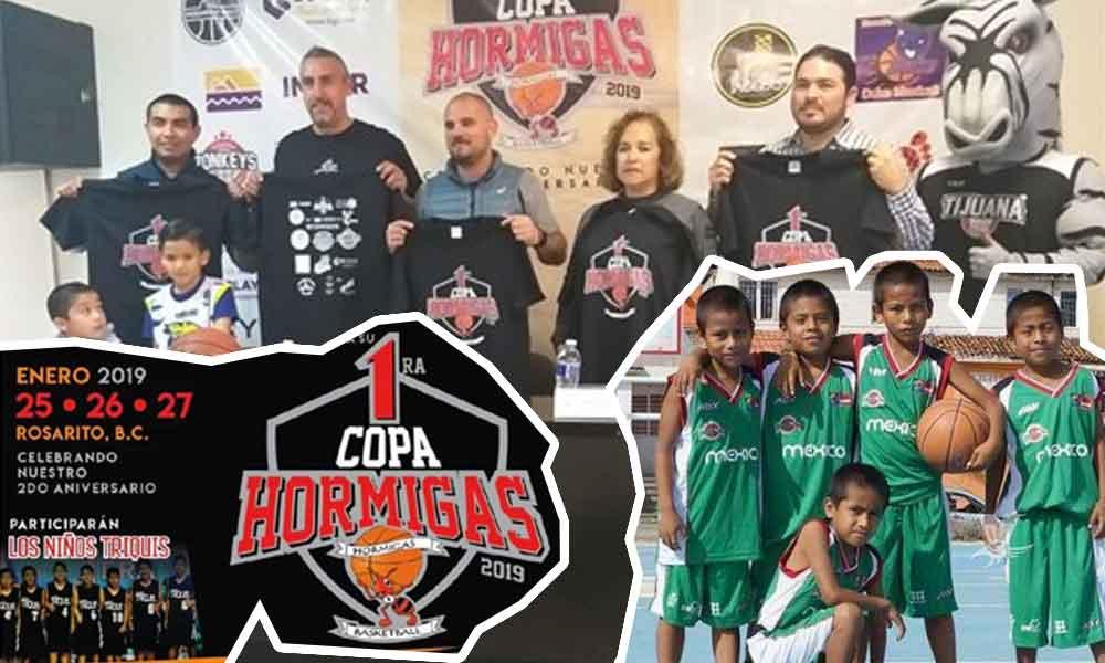 'Niños Triquis' visitarán Rosarito en un torneo de basquetbol