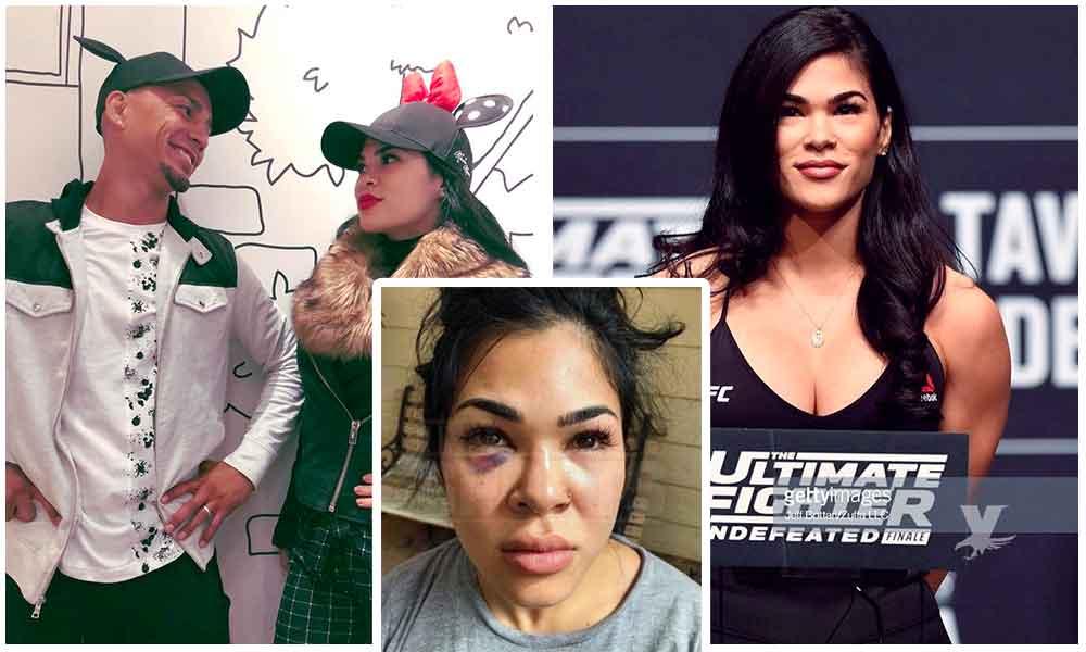 (VIDEO) Luchadora de MMA escapa completamente desnuda de la brutal golpiza de su esposo