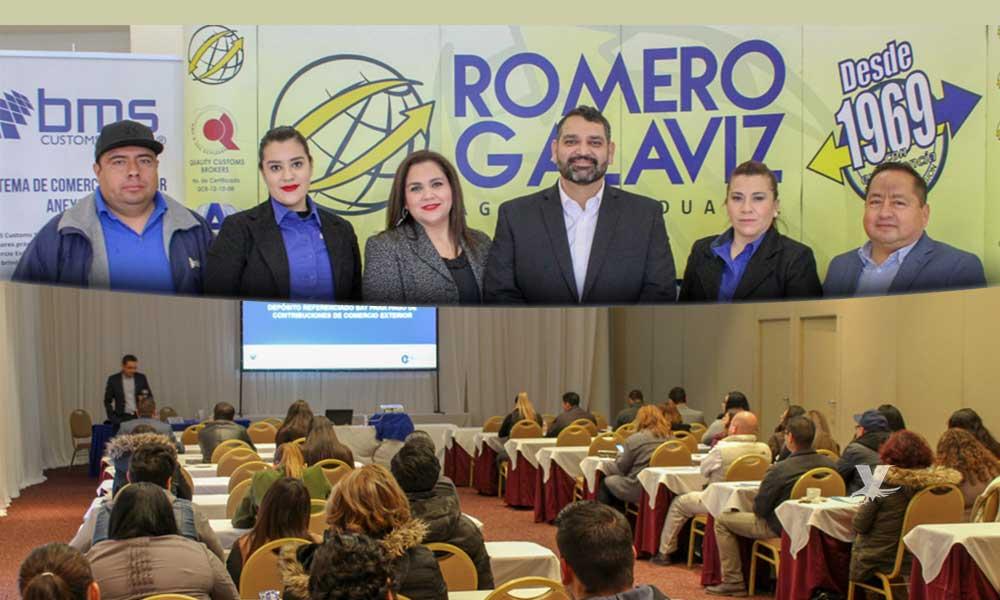 "Un éxito primer taller de Agencia Aduanal Romero Galaviz de ""Actualización en materia aduanera y de comercio exterior 2019"""
