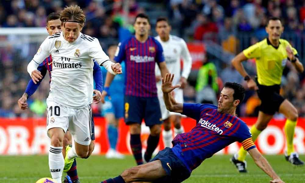 Por el pase a Final de Copa y definición de La Liga, Barcelona y Real Madrid jugarán 3 veces en menos de un mes