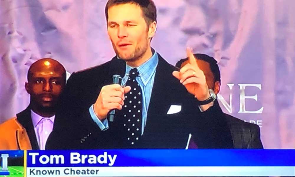 """Productor llama """"tramposo"""" a Tom Brady y es despedido"""