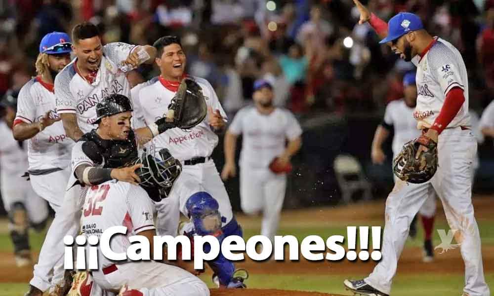 Panamá vence a Cuba y son campeones de la Serie del Caribe 2019