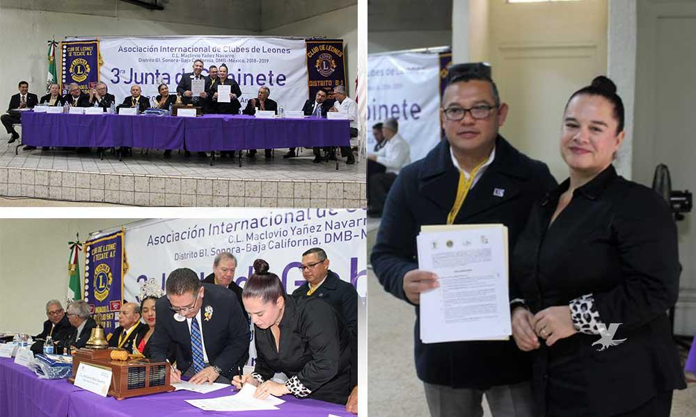 Tecate fue sede de la Tercer Junta de Gabinete de Club de Leones Distrito B-1; Asisten más de 250 socios