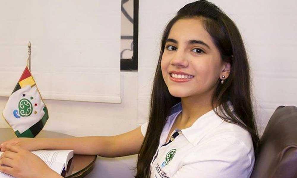 Dafne Almazán es la primera menor que cursará un posgrado en Harvard