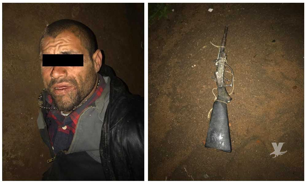 Capturan a sujeto que agredió a tiros a elementos de la Policía Municipal de Tecate