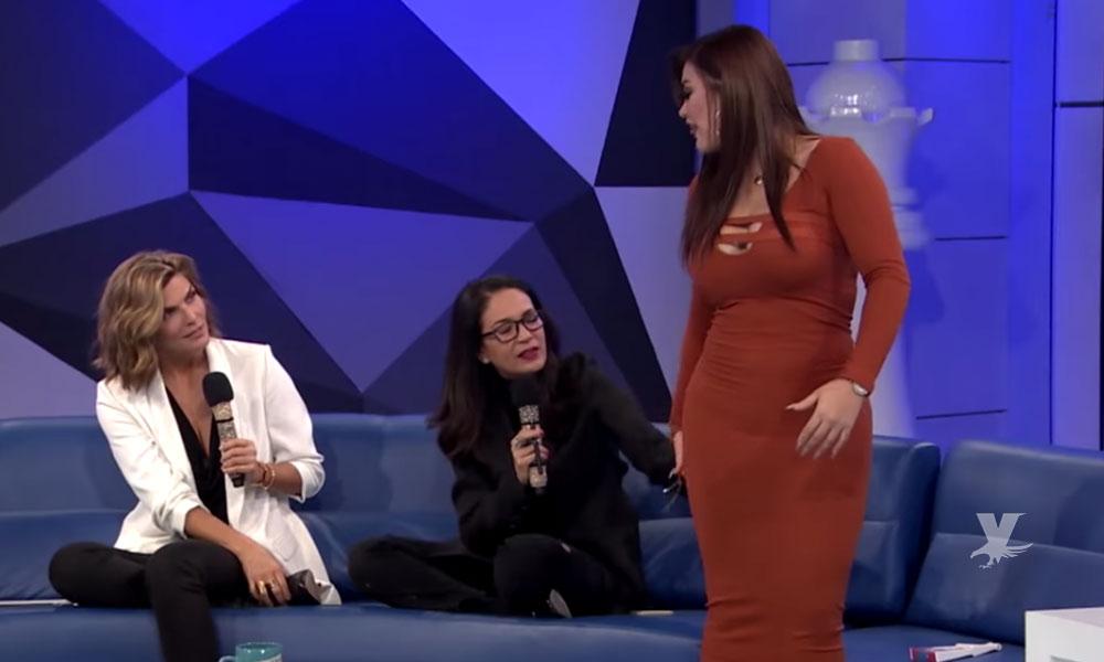 "(VIDEO) Yolanda Andrade da tremenda ""agasajada"" al trasero de 'Gomita'"