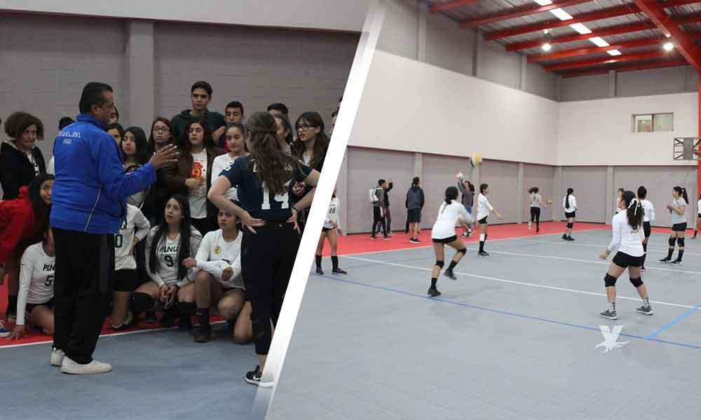 Inaugura Nereida Fuentes modernización de gimnasio en el Eufrasio Santana