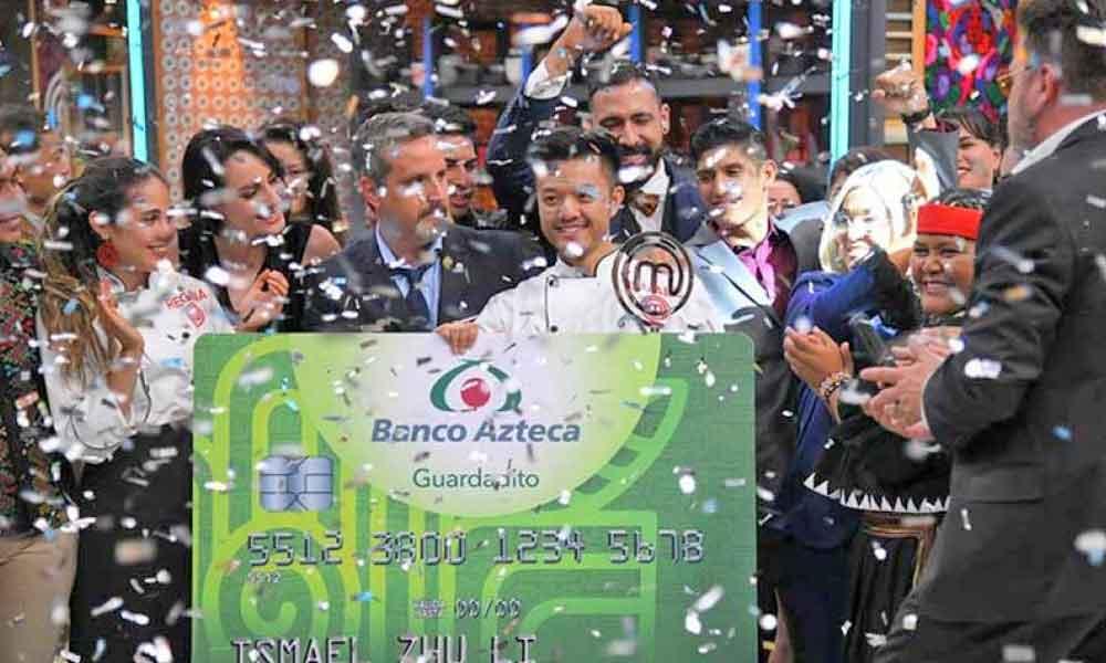 Ismael 'El Chino' se proclama ganador de Masterchef México