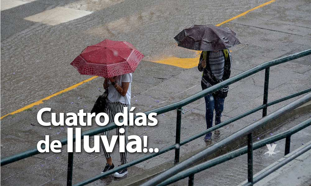 Lloverá de miércoles a sábado en Baja California: Protección Civil