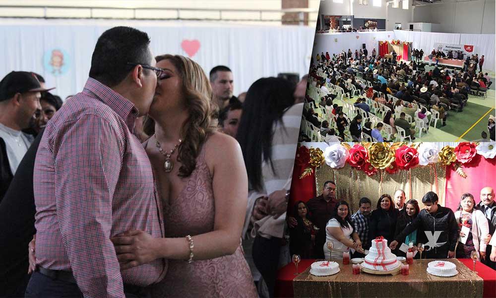 115 parejas celebran el amor contrayendo matrimonio en Tecate