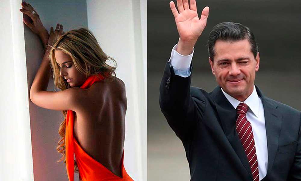 Enrique Peña Nieto es captado en España acompañado de una joven modelo mexicana