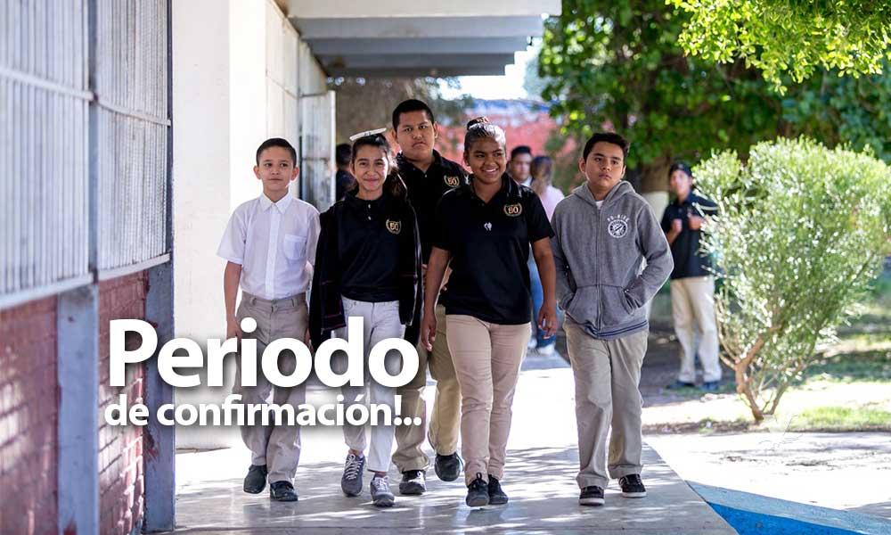 Importante confirmar inscripción en escuelas asignadas de Preescolar, Primaria y Secundaria en Baja California