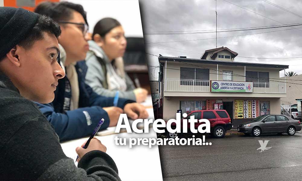 Invita Lic. Marina Calderón al curso de Ceneval en Tecate, ¡Acredita tu preparatoria en 3 meses!