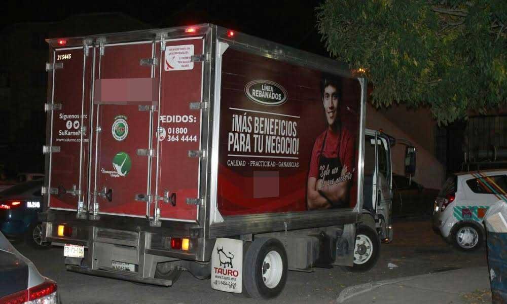 Roban poco más de 4 toneladas de carne en carretera Mexicali-Tecate