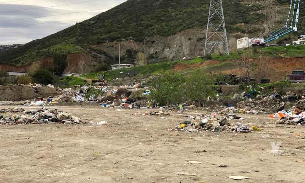 Limpieza del Río Tecate se encuentra con un 95% de avance