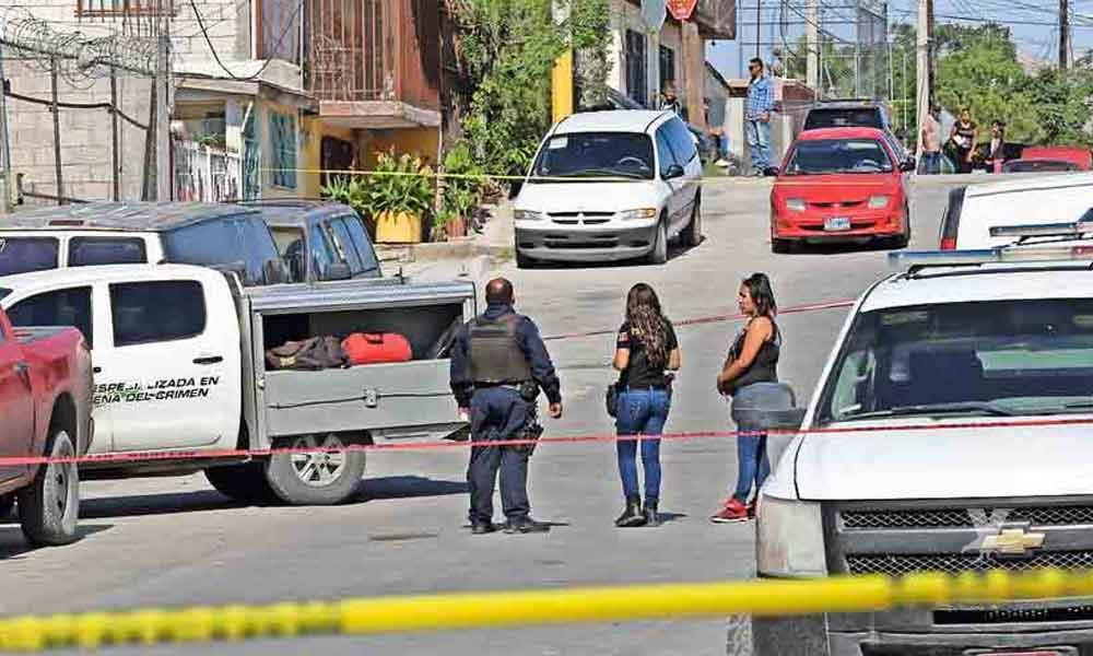 Hombre fue asesinado a golpes en el interior de su domicilio en la calle Tecate