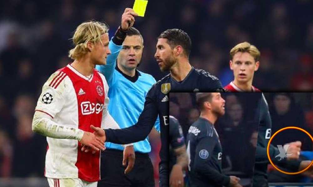 Sergio Ramos es investigado por la UEFA por anti-Fair Play en el encuentro contra el Ajax
