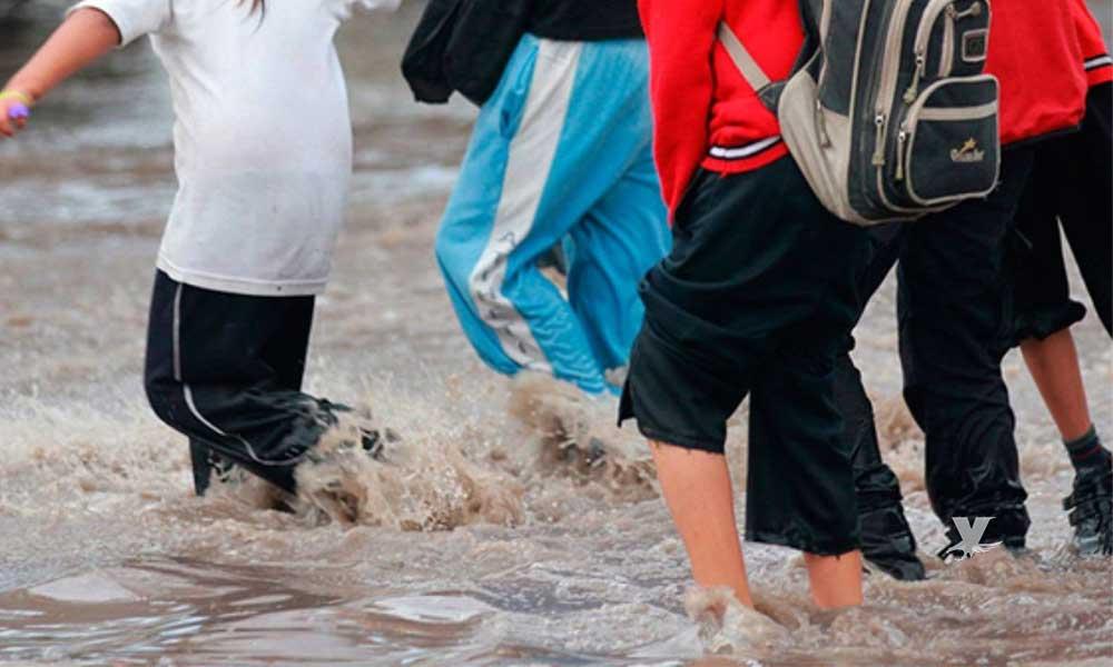Suspensión de clases y labores en Mexicali este jueves 14 de febrero por lluvias: SEE