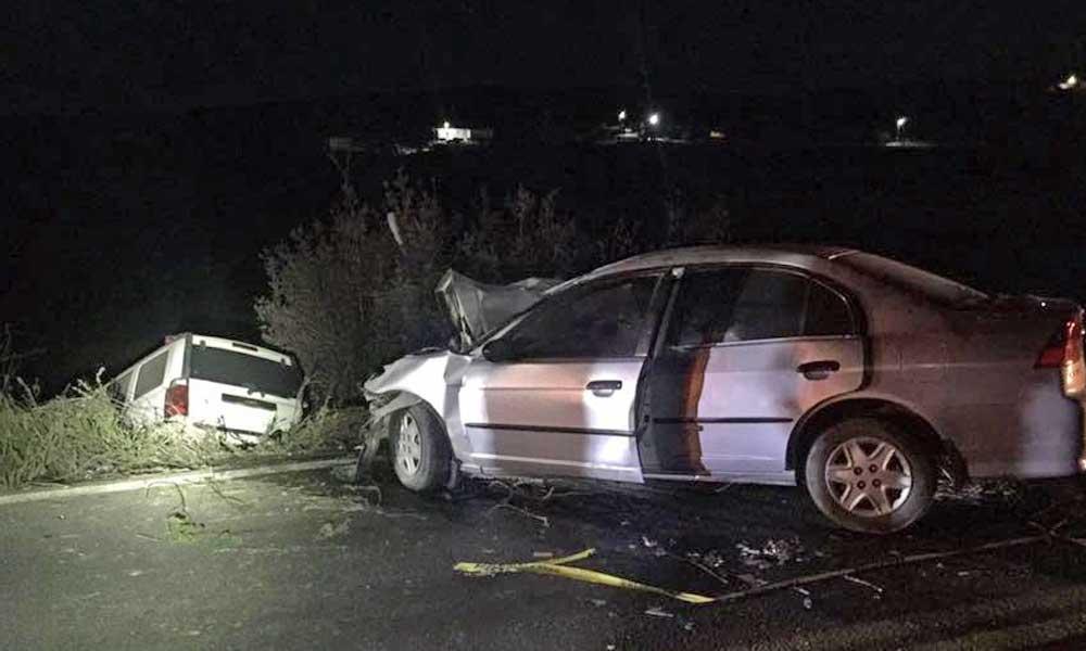 Fuerte accidente en carretera Tecate-El Hongo deja dos mujeres muertas y 7 lesionados