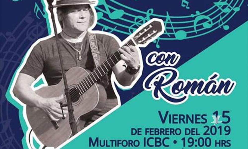 """Presenta """"Román"""" concierto por primera vez en Tijuana"""