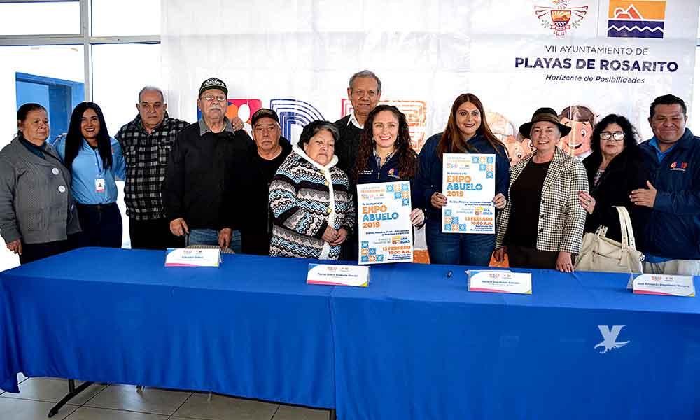 """Realiza DIF Playas de Rosarito """"EXPO ABUELO 2019"""""""