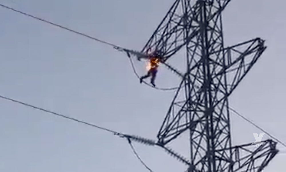 Adolescente muere electrocutado al subir a una torre para tomarse una selfie