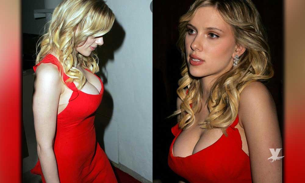 Scarlett Johansson presuntamente se redujo el busto