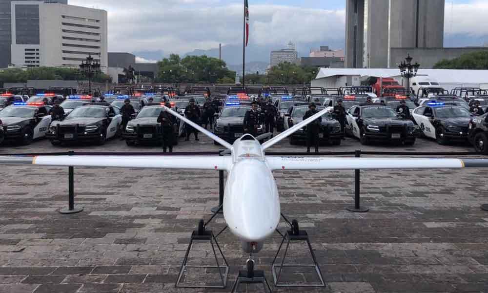 """Invierte 54 millones de pesos """"El Bronco"""" en la compra de un dron para combatir inseguridad"""