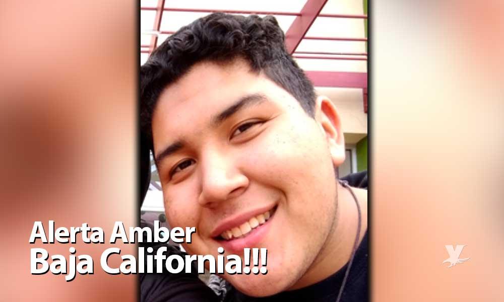 Activan Alerta Amber en Baja California por desaparición del joven Víctor Domínguez