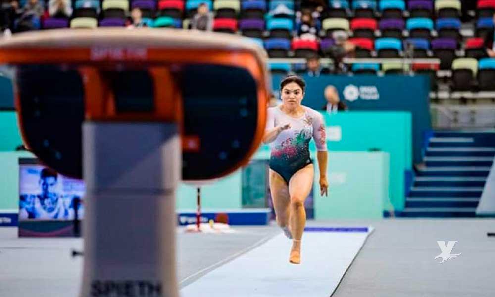 Alexa Moreno disputará otra final de gimnasia ahora en Qatar