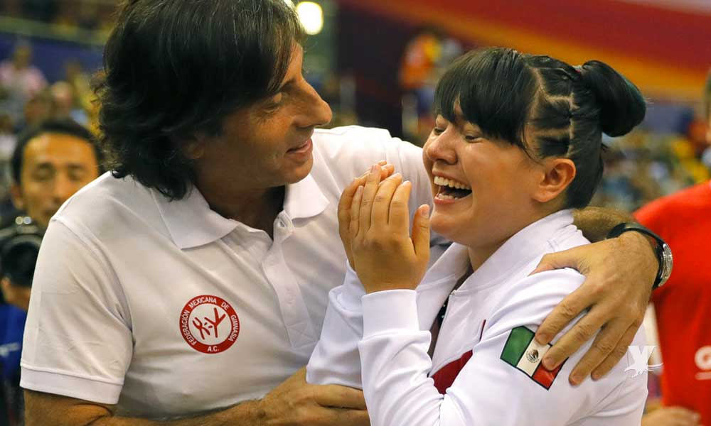 Alexa Moreno, la gimnasta de Mexicali calificó a la final de la Copa del Mundo
