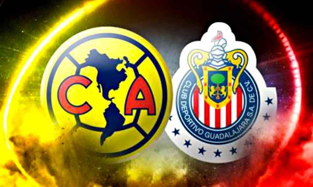 América recibirá hoy a Chivas en el primero de dos Clásicos Nacionales esta semana