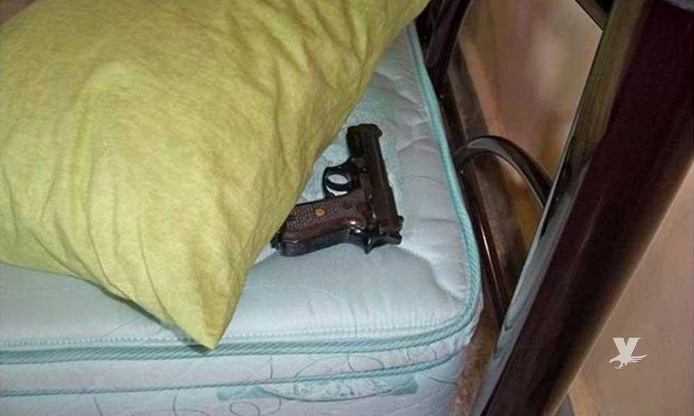 Mexicanos tienen derecho a tener armas en su casa para defensa personal