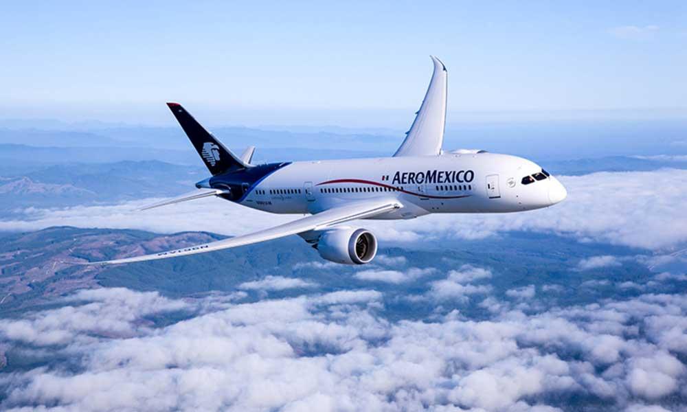Aeroméxico seguirá utilizando sus 6 aviones Boeing 737 Max 8