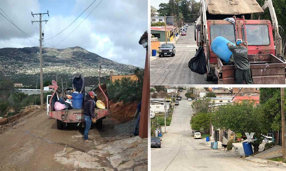 Departamento de Limpia abate rezago de basura en Tecate