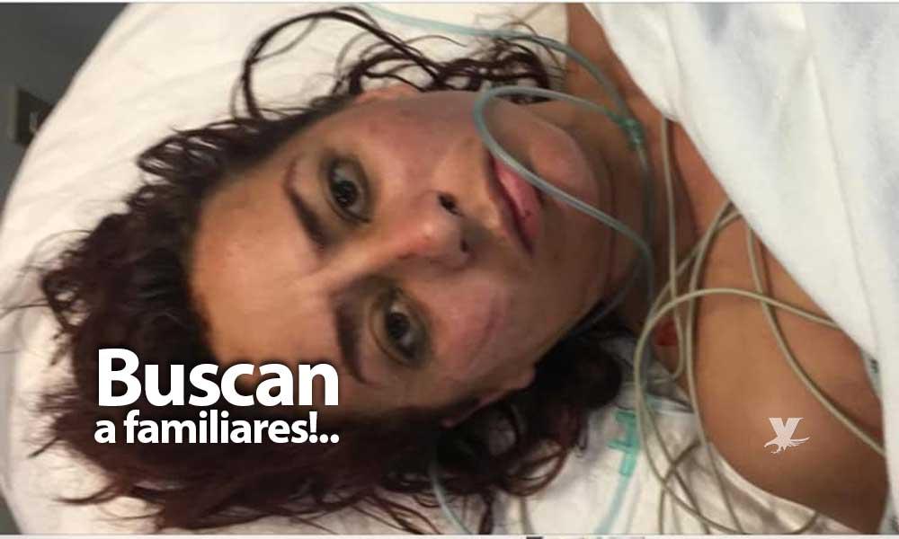 Buscan a familiares de Nubia, está internada en el Hospital General de Tecate