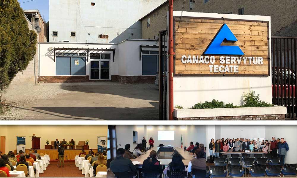 Promueve Canaco Tecate cursos de actualización entre sus afiliados; en dos meses más de 140 capacitados