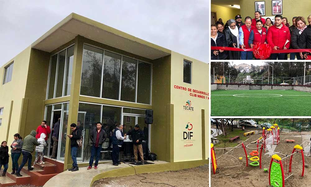 Inauguran moderno Club para Niñas y Niños en Tecate