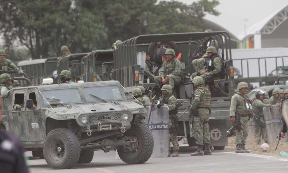 Muere quemado mientras era perseguido por el Ejército Mexicano