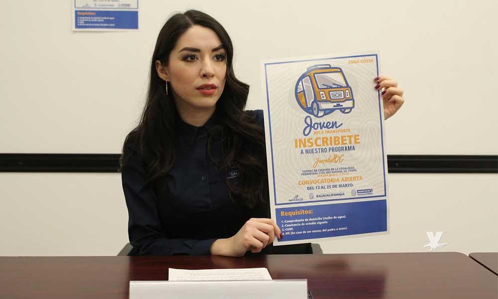 "Abren convocatoria para Beca Transporte ""Joven BC"", obtendrán 500 pesos"