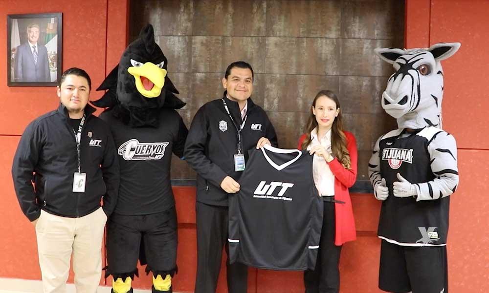Firman convenio UTT y Zonkeys de Tijuana, buscan fortalecer el deporte en la comunidad universitaria