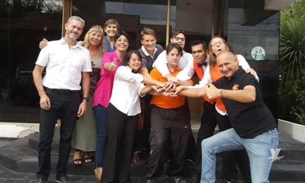 Inauguran en Latinoamérica hotel atendido por jóvenes con Síndrome de Down