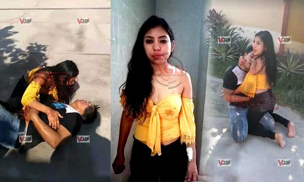 (VIDEO) Apuñaló a su novio en un hotel y después le pide que no se muera