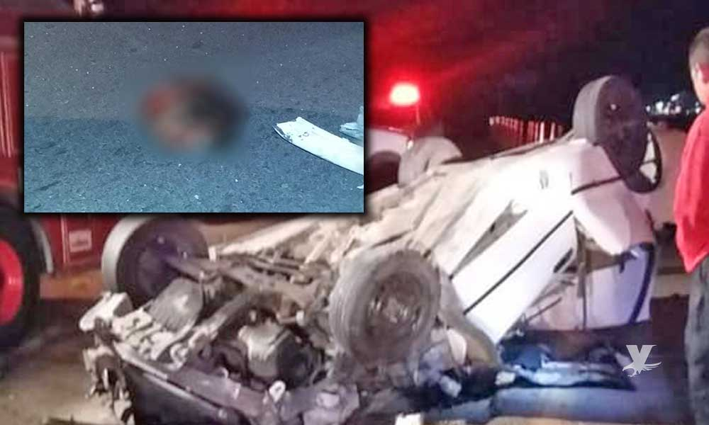 Mujer muere decapitada en accidente sobre la carretera Mexicali-San Felipe